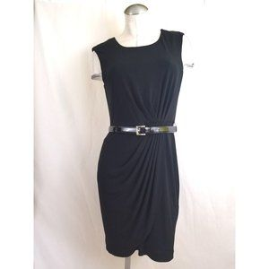 Calvin Klein Size 8 Black Day to Night Dress